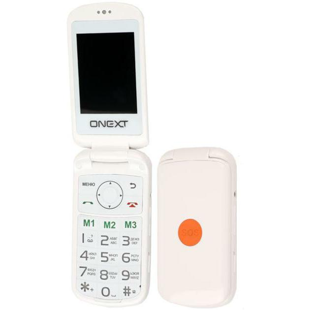Onext Care-Phone 6 Белый