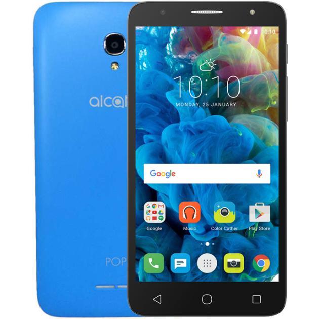 все цены на  Смартфон Alcatel POP 4 Plus 5056D Голубой  онлайн
