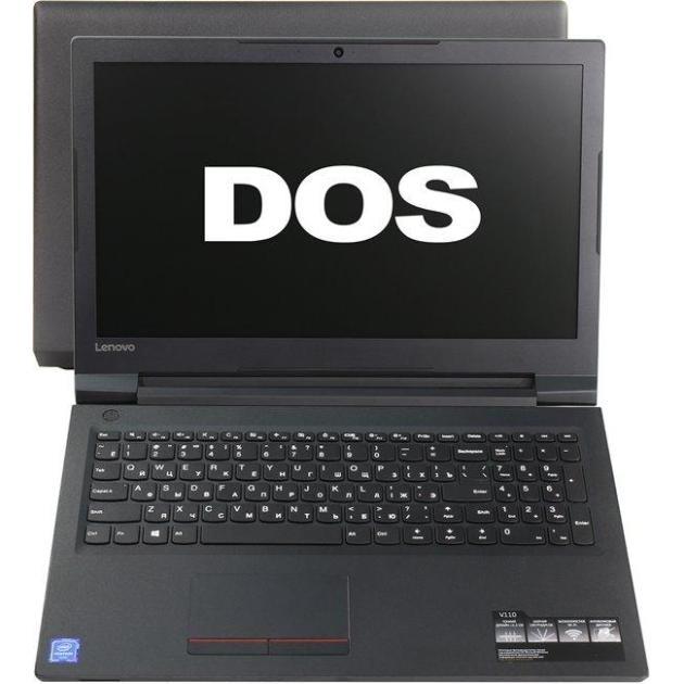 "Lenovo IdeaPad V110-15ISK 15.6"", Intel Core i3, 2000МГц, 4Гб RAM, 500Гб, Черный, DOS, DVD-RW"
