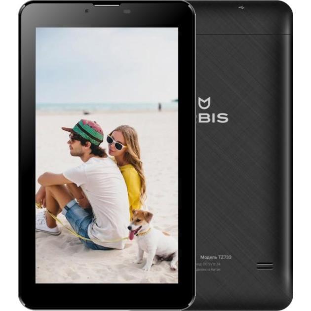 Irbis TZ733 Wi-Fi и 3G, Черный, 8Гб