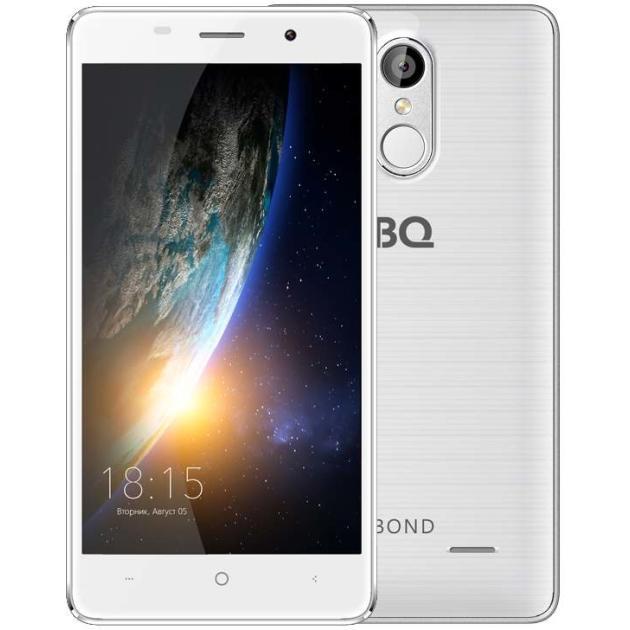 все цены на  Смартфон BQ-Mobile BQ-5022 Bond Белый  онлайн
