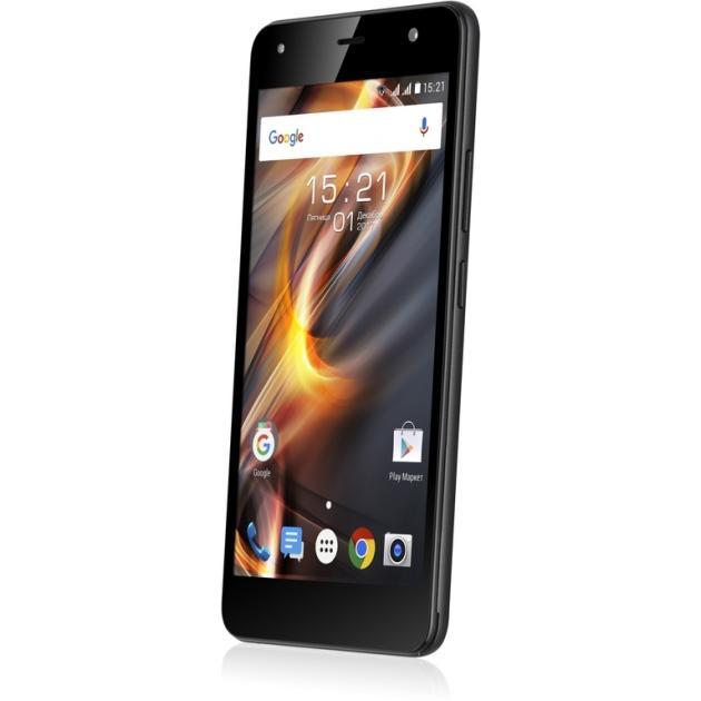 Смартфон Fly FS528 Memory Plus Черный смартфон fly nimbus 10 fs512 черный