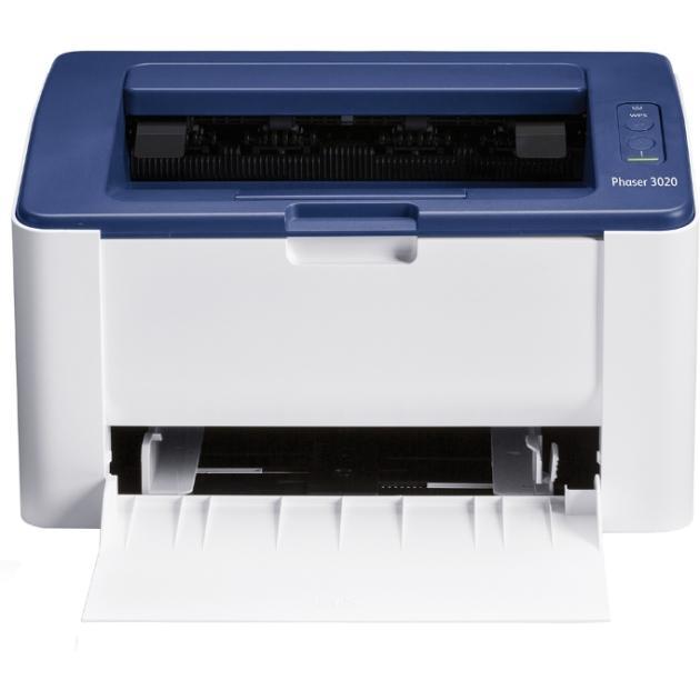 Xerox Phaser 3020BI Лазерный  светодиодный, Белый, Черно-белая, А4