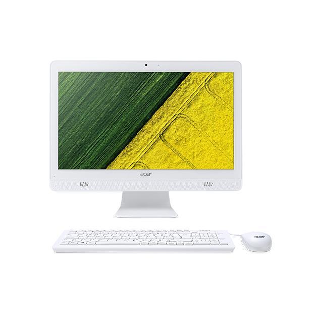 Моноблок Acer Aspire C20-720 Intel Pentium, DOS, Белый моноблоки acer aspire c20 720 черный