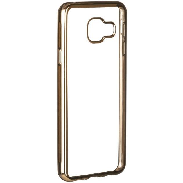 Red Line iBox Blaze для Samsung Galaxy A3 2017 золотистая рамка