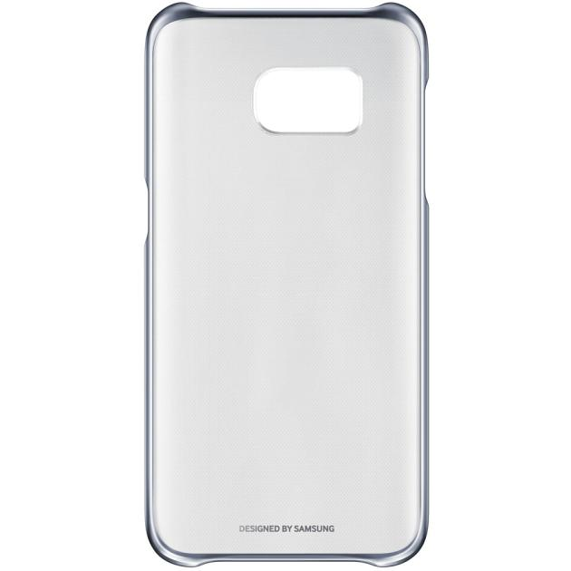 Чехол Samsung Clear Cover для Samsung Galaxy S7 накладка, поликарбонат, Черный