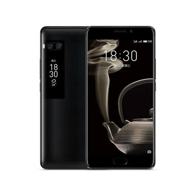 Смартфон Meizu Pro 7 Plus 64Гб, Черный, Dual SIM, 4G LTE, 3G  meizu pro 6 plus 64gb grey