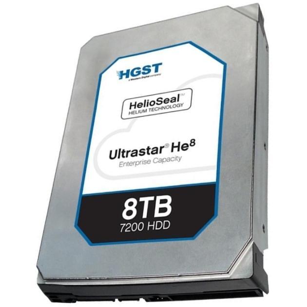 Hitachi Ultrastar He8 HUH728080AL5204 0F23657 600 Мб/с