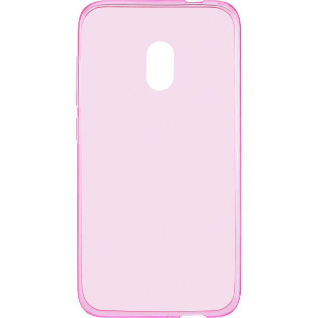 Alcatel GS5044 для 5044D U5 защитный, силикон, Розовый