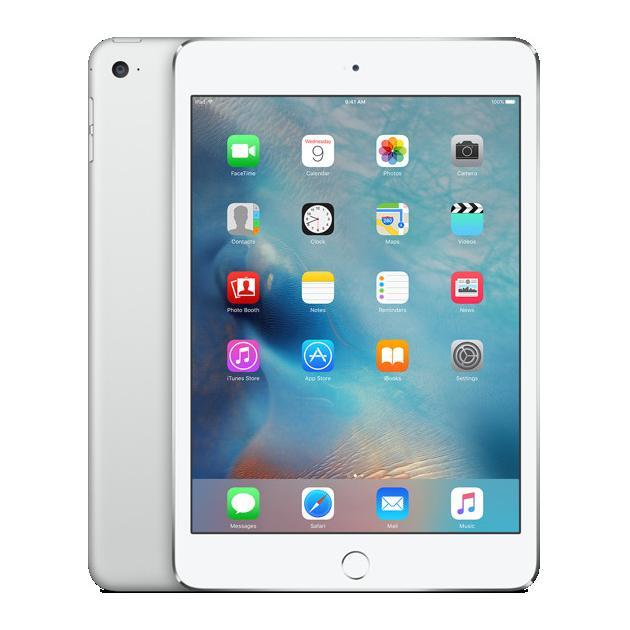 Apple iPad mini 4 Wi-Fi и 3G/ LTE, Серебристый, 128Гб