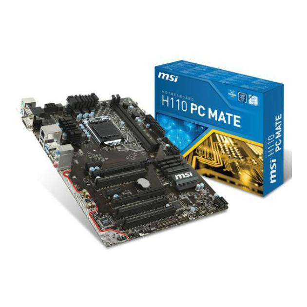 Материнская плата MSI H110 PC MATE ATX