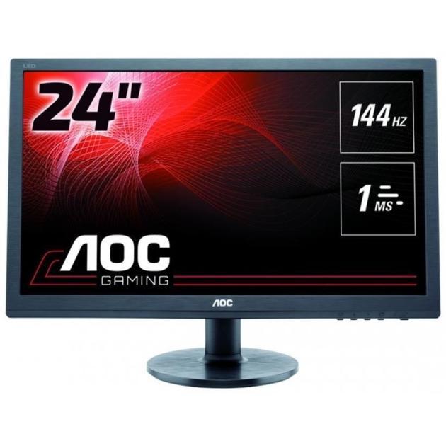 """все цены на  Монитор AOC G2460FQ 24"""", Черный, DVI, HDMI, Full HD  онлайн"""