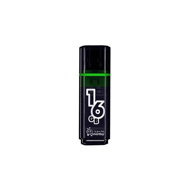 SmartBuy Glossy 16Гб, Темно-серый, пластик, USB 2.0 B0001316925