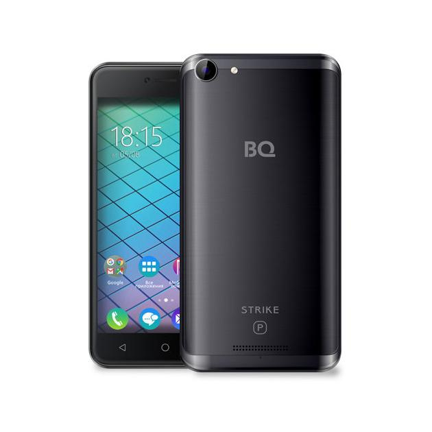 Смартфон BQ-Mobile BQ-5059 Strike Power Серый смартфон bq mobile strike power gold brushed bq 5059