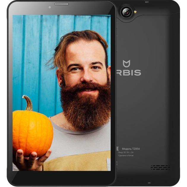 Irbis TZ854 Wi-Fi и 3G, Черный, 8Гб