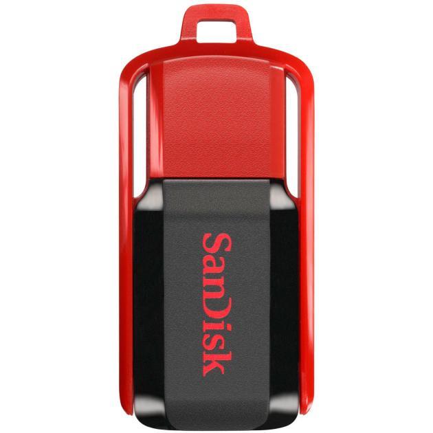 SanDisk CZ52 Cruzer Switch 16Гб, Красный