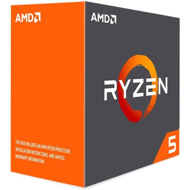 AMD Ryzen X6 R5-1600X Box