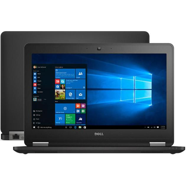 Ноутбук Dell Latitude E7270-9730 12.5, Intel Core i7, 2600МГц, 8Гб RAM, DVD нет, 512Гб, Черный, Wi-Fi, Windows 10 Pro, Windows 7 ультрабук dell latitude e7270 7270 9730 7270 9730