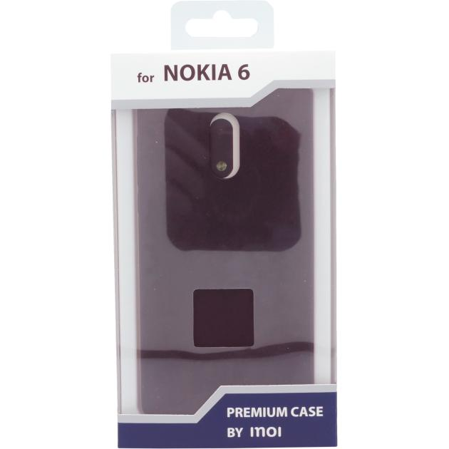 Inoi для Nokia 6 ультратонкий черный