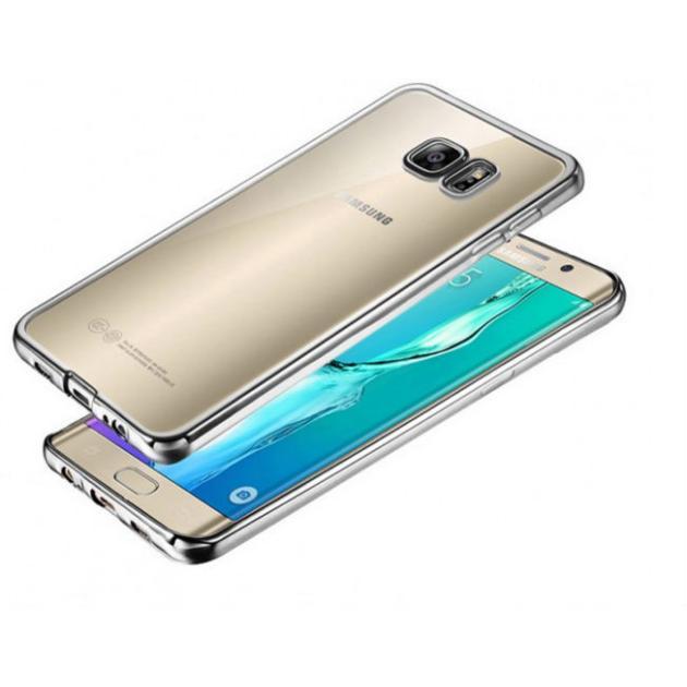 "Red Line iBox Blaze для Samsung Galaxy S7 серебристая рамка, 5.1"""