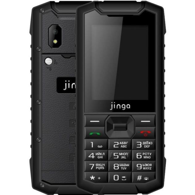 Мобильный телефон Jinga IP68 Черный, 0.032Гб, 2 SIM цена и фото
