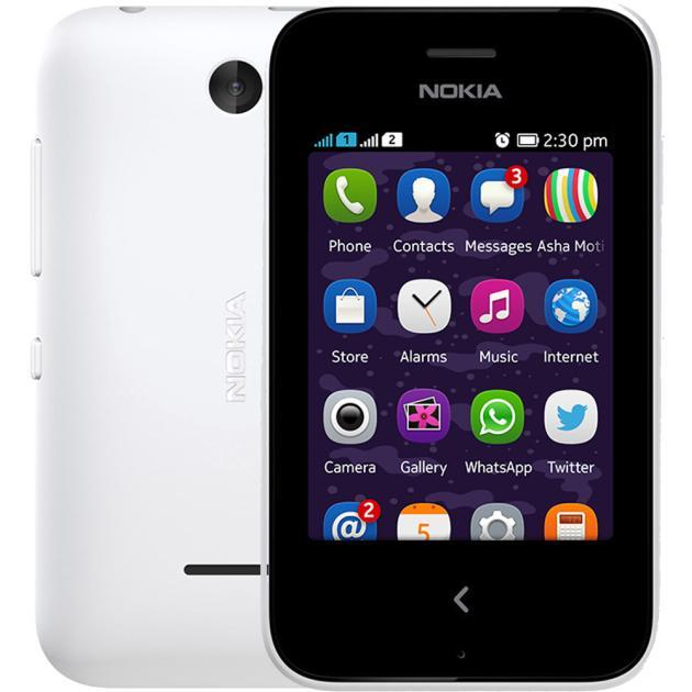 Смартфон Nokia 230 Dual Sim Белый сенсорный экран для nokia n8