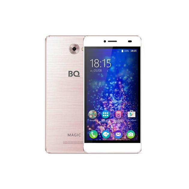 Смартфон BQ-Mobile BQ BQS-5070 Magic Розовый bq bq bqs 3501 delhi красный 0 512гб 2 sim