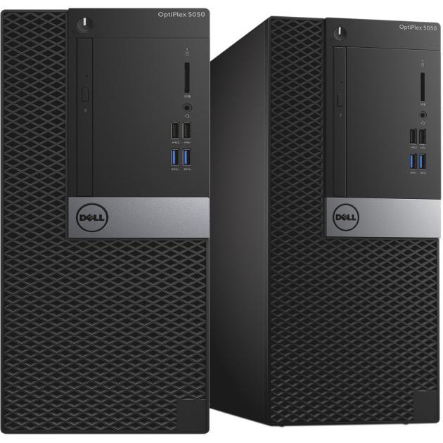 Системный блок Dell OptiPlex 5050 MT 5050-8282 компьютер dell optiplex 5050 intel core i3 7100t ddr4 4гб 128гб ssd intel hd graphics 630 linux черный [5050 8208]