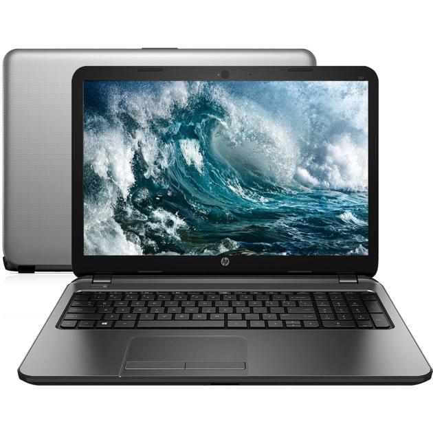 """HP 250 G4 N0Y18ES 15.6"""", Intel Celeron, 1600МГц, 2Гб RAM, DVD-RW, 500Гб, DOS, без ОС, Серый, Wi-Fi, Bluetooth"""