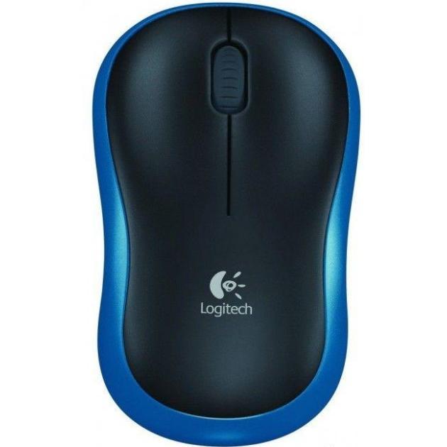 Logitech Wireless Mouse M185 Темно-синий
