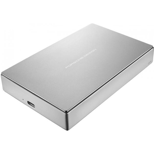 Внешний жесткий диск LaCie Porsche Design Mobile Drive USB-C 5 Тб, Серебристый lacie porsche design p9227 2 5 yingcun usb c usb3 0 мобильный 2tb жесткий диск