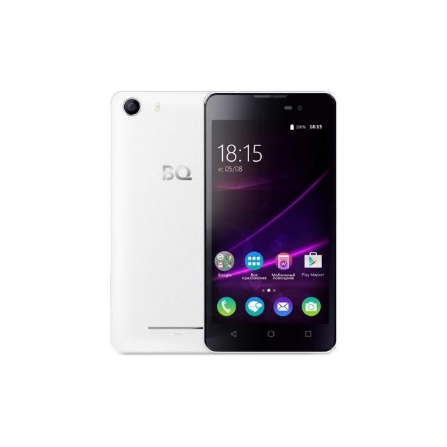Смартфон BQ-Mobile BQ BQS-5065 Choice Белый смартфон bq mobile bqs 5065 choice black