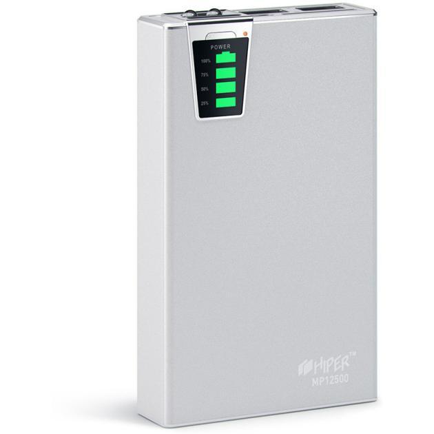 Зарядное устройство HIPER MP12500 Серебристый