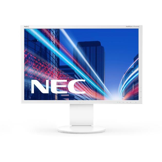 Монитор NEC MultiSync EA244WMi 24, Белый, DVI, HDMI, 1920х1200