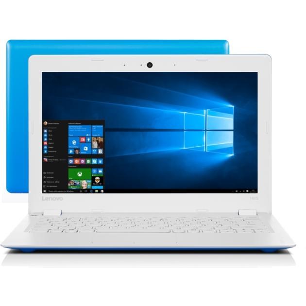 Ноутбук Lenovo IdeaPad 110S-11IBR 11.6, Intel Celeron, 1600МГц, 2Гб RAM, 32Гб, Синий, Windows 10 Домашняя