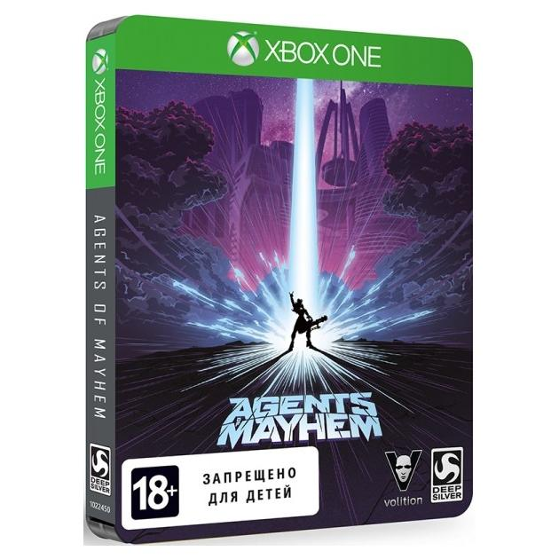 Agents of Mayhem. Steelbook Edition Xbox One
