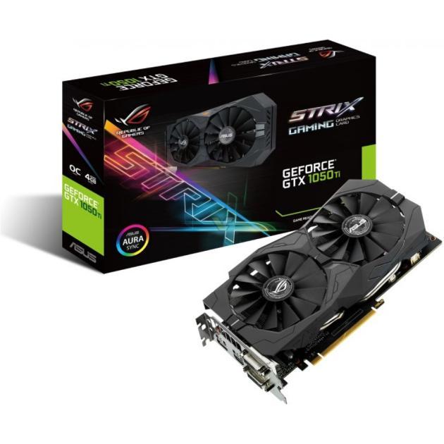 Видеокарта Asus GeForce GTX 1050 Ti ROG Strix