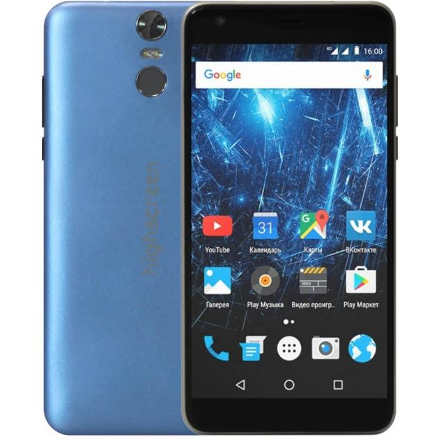 Смартфон Highscreen Easy XL Pro Синий