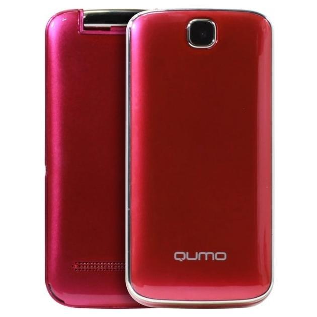Мобильный телефон Qumo Push 246 Clamshell Красный стоимость