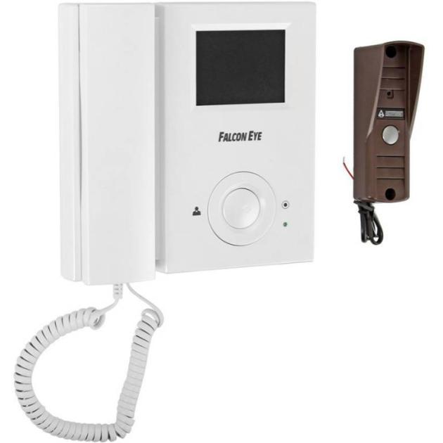 все цены на  Видеодомофон Falcon Eye FE-35C + AVP-505U белый  онлайн