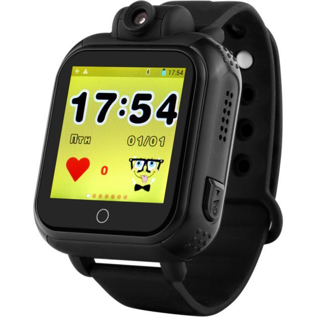 Умный часы и браслет Wonlex GW1000 черный Черный, Часы