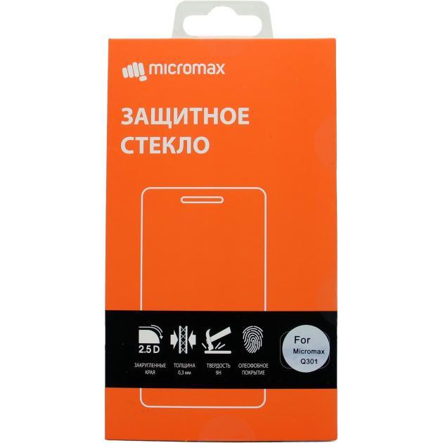 Защитное стекло для Micromax Q301