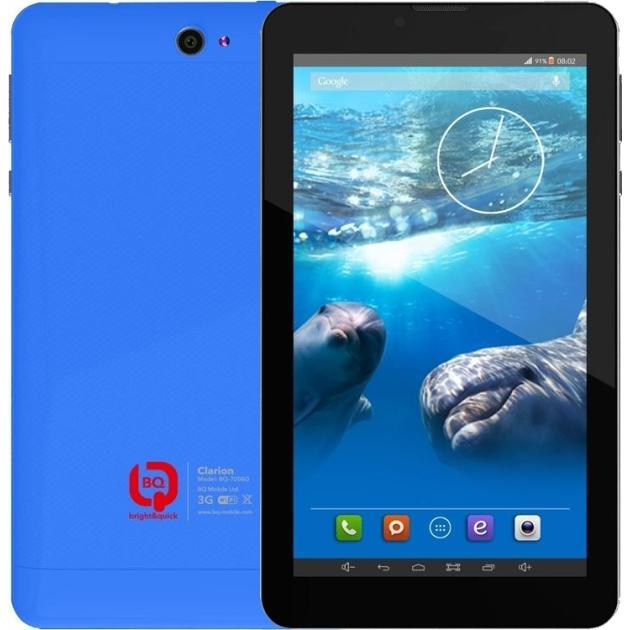 """BQ-7008G, 7"""", 4Gb, Wi-Fi+3G, Синий"""