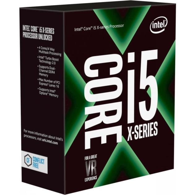 Intel Core i5-7640X Box 4 ядра, 4000МГц, Box