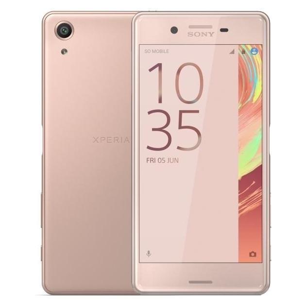Смартфон Sony Xperia X Performance 32Гб, Розовый, 1 SIM, 4G LTE, 3G смартфон sony xperia x 32гб белый 1 sim