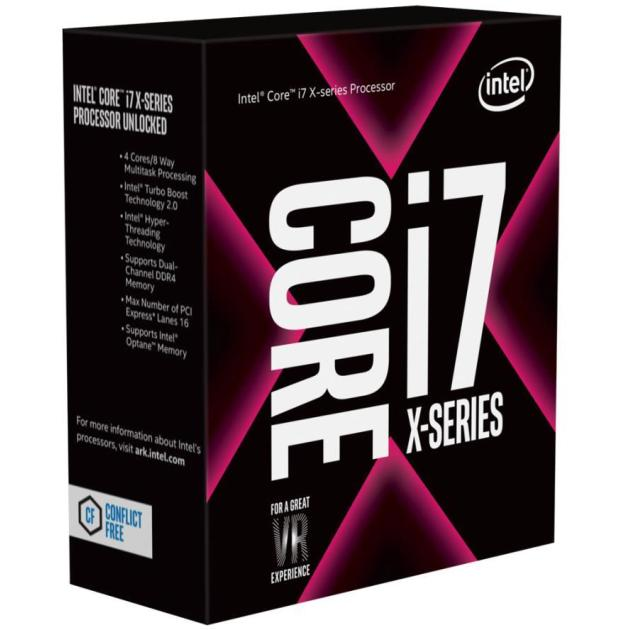 Intel Core I7-7740X Box 4 ядра, 4300МГц, Box