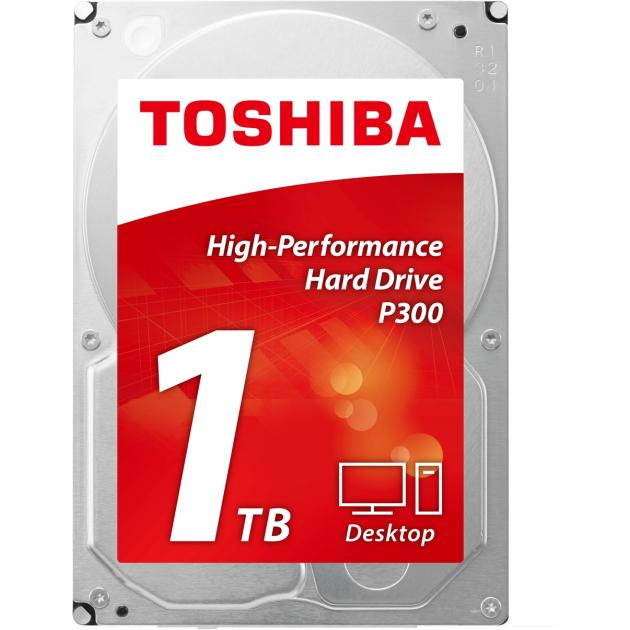 Жесткий диск Toshiba P300 HDWD110EZSTA 1024Гб, 600, 3.5 HDD retail 4pk ce310a ce311a ce312a ce313a compatible color toner cartridge 126a for hp laserjet cp1025 cp1025nw m275mfp m175a m175nw