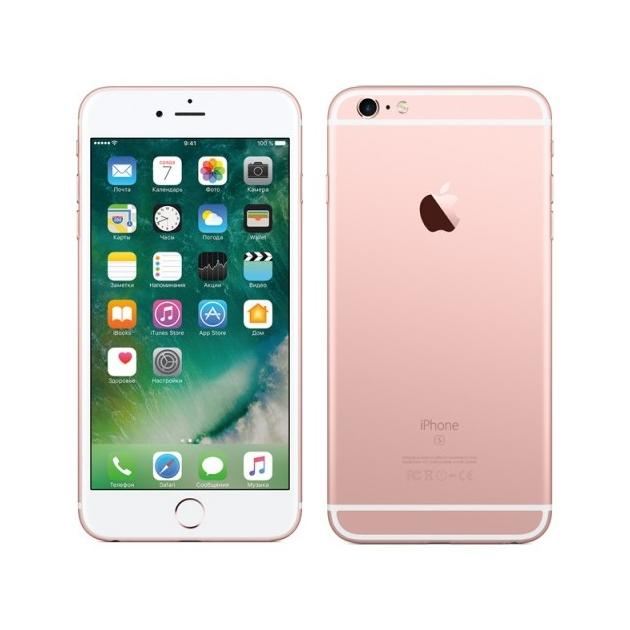 Смартфон Apple iPhone 6s Plus Розовый, 32Гб