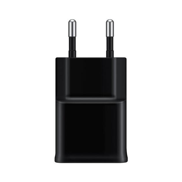 Зарядное устройство Samsung EP-TA12EBEUGRU Черный, microUSB samsung ep ta12 white сетевое зарядное устройство microusb 2 0
