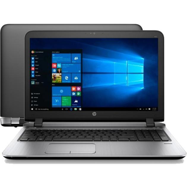 Ноутбук HP ProBook 450 G3 W4P23EA 15.6, Intel Core i3, 2.3МГц, 4Гб RAM, DVD-RW, 500Гб, Черный, Windows 7, Windows 10, Wi-Fi, Bluetooth